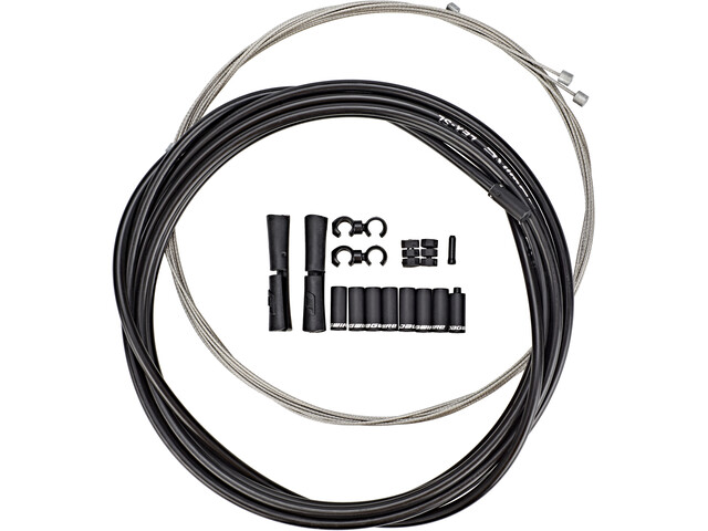 Jagwire Sport Universal Shift Cable Set for Shimano/SRAM/Campagnolo, black